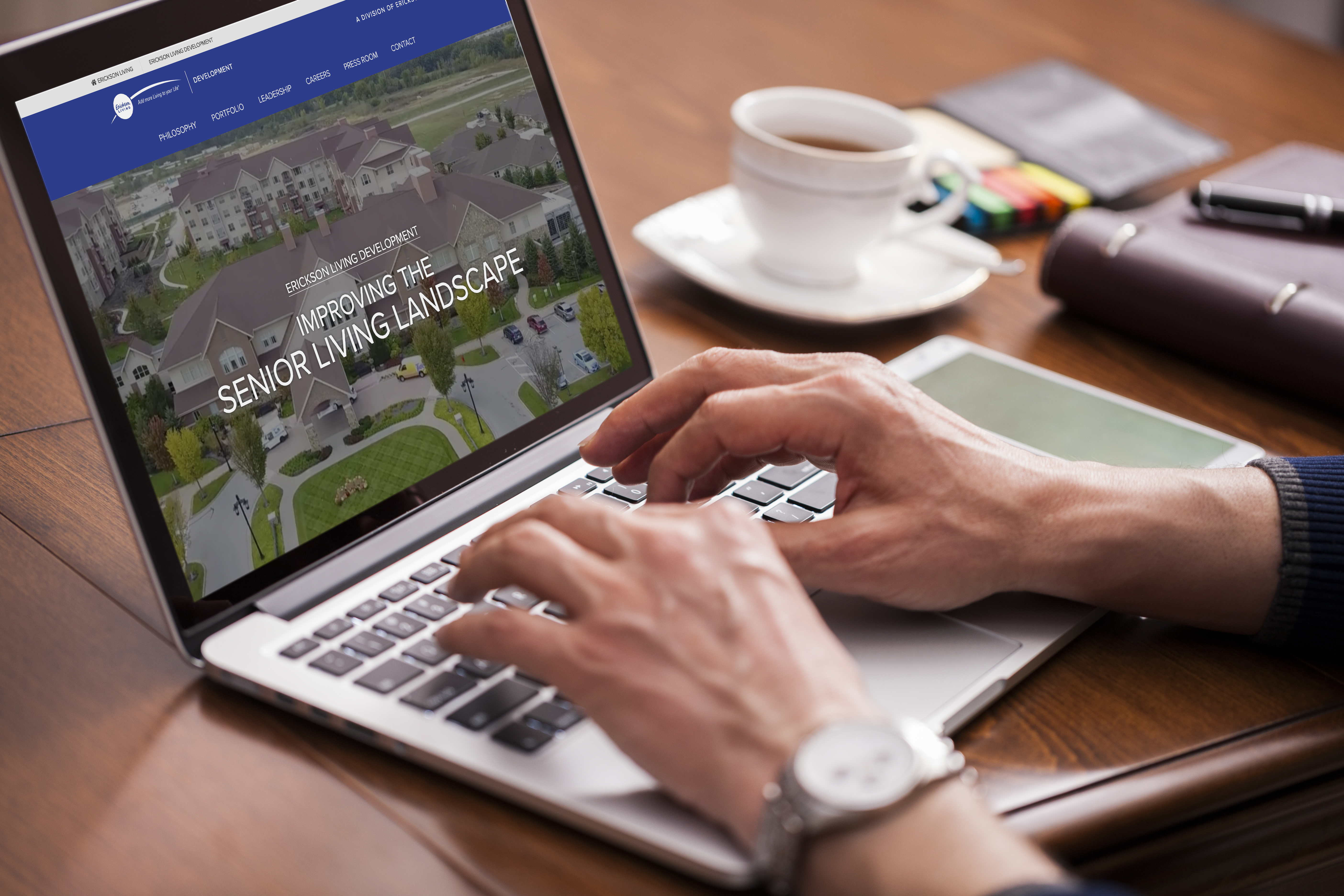 Erickson Living Development Webpage