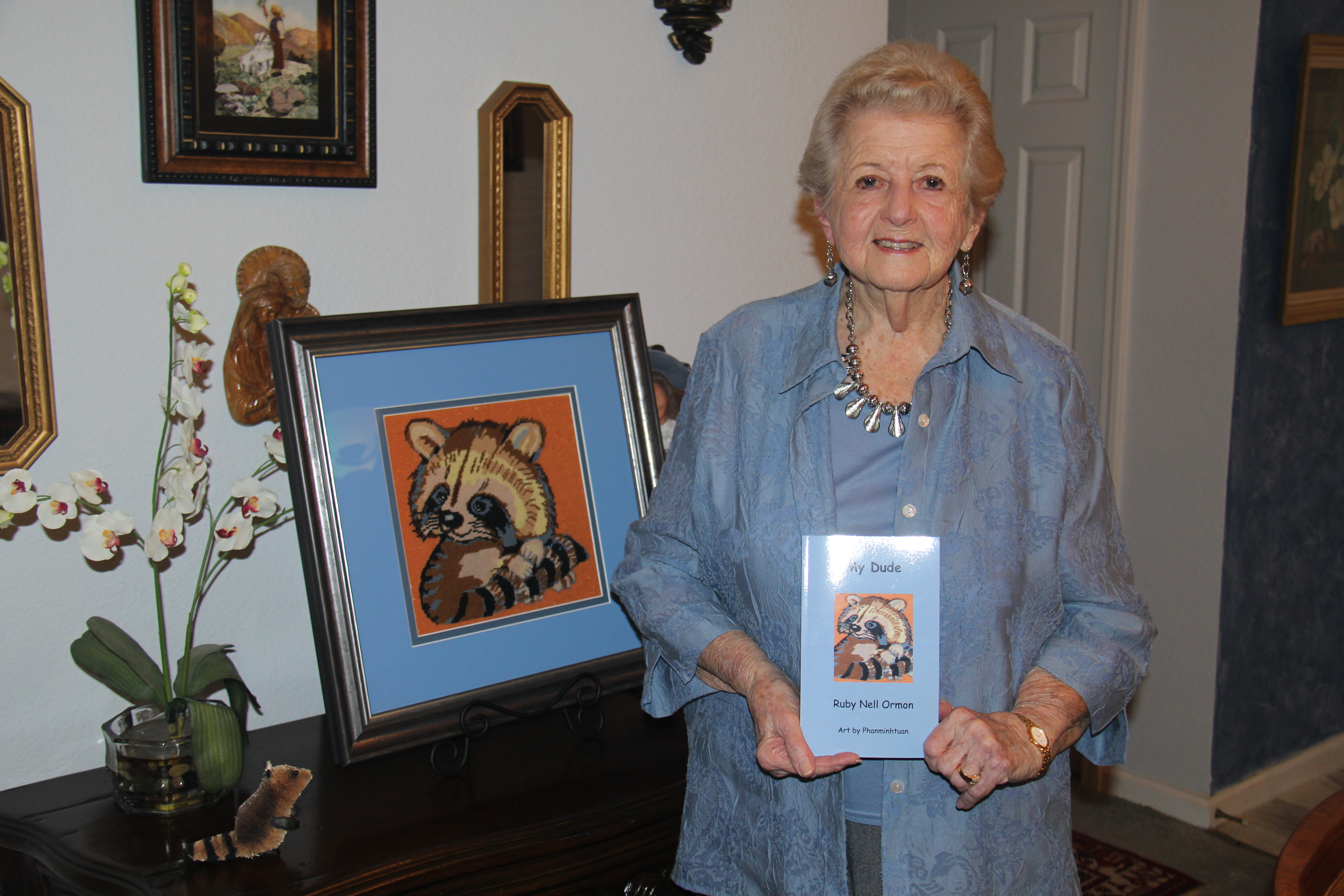 Highland Springs resident & author, Ruby Nell Ormon